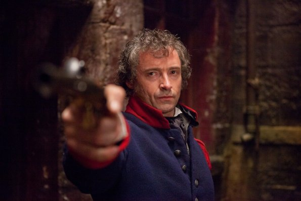 "Hugh Jackman en ""Los Miserables""."
