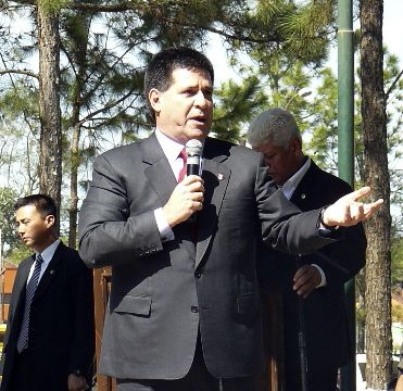 Horacio Cartes, presidente. (Archivo).