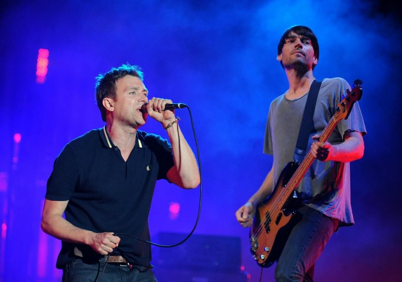 Blur presento nuevo album the magic whip en londres