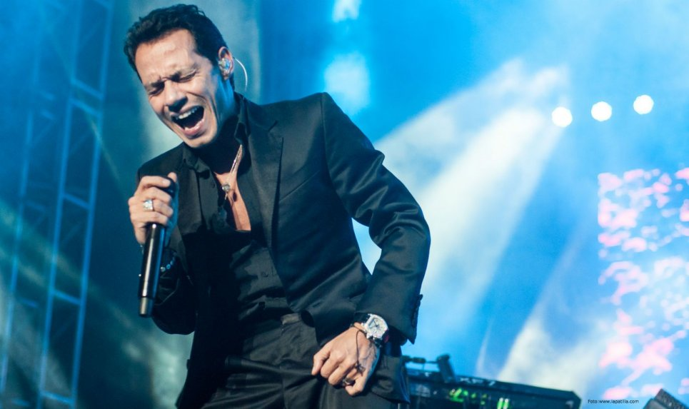 Marc Anthony viene a Paraguay