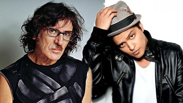 Charly García demanda a Bruno Mars
