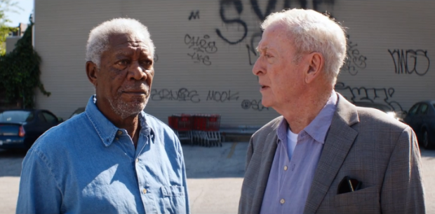 Wallpaper Going In Style Morgan Freeman Alan Arkin: Un Golpe Con Estilo
