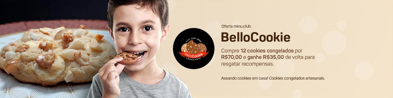12 cookies congelados por R$70,00
