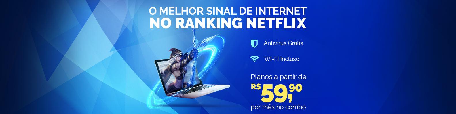 NET Virtua 60 mega em promoção