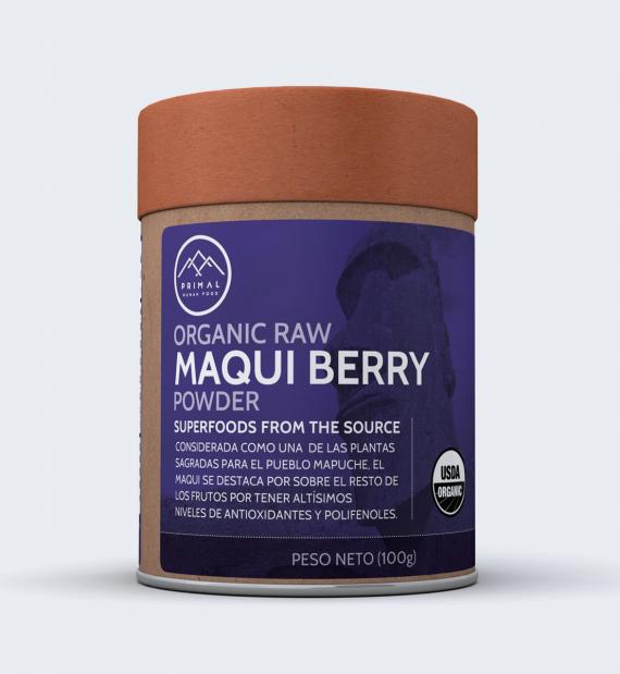 Maqui Berry en polvo orgánico