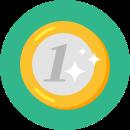 Ícone ilustrativo de moeda