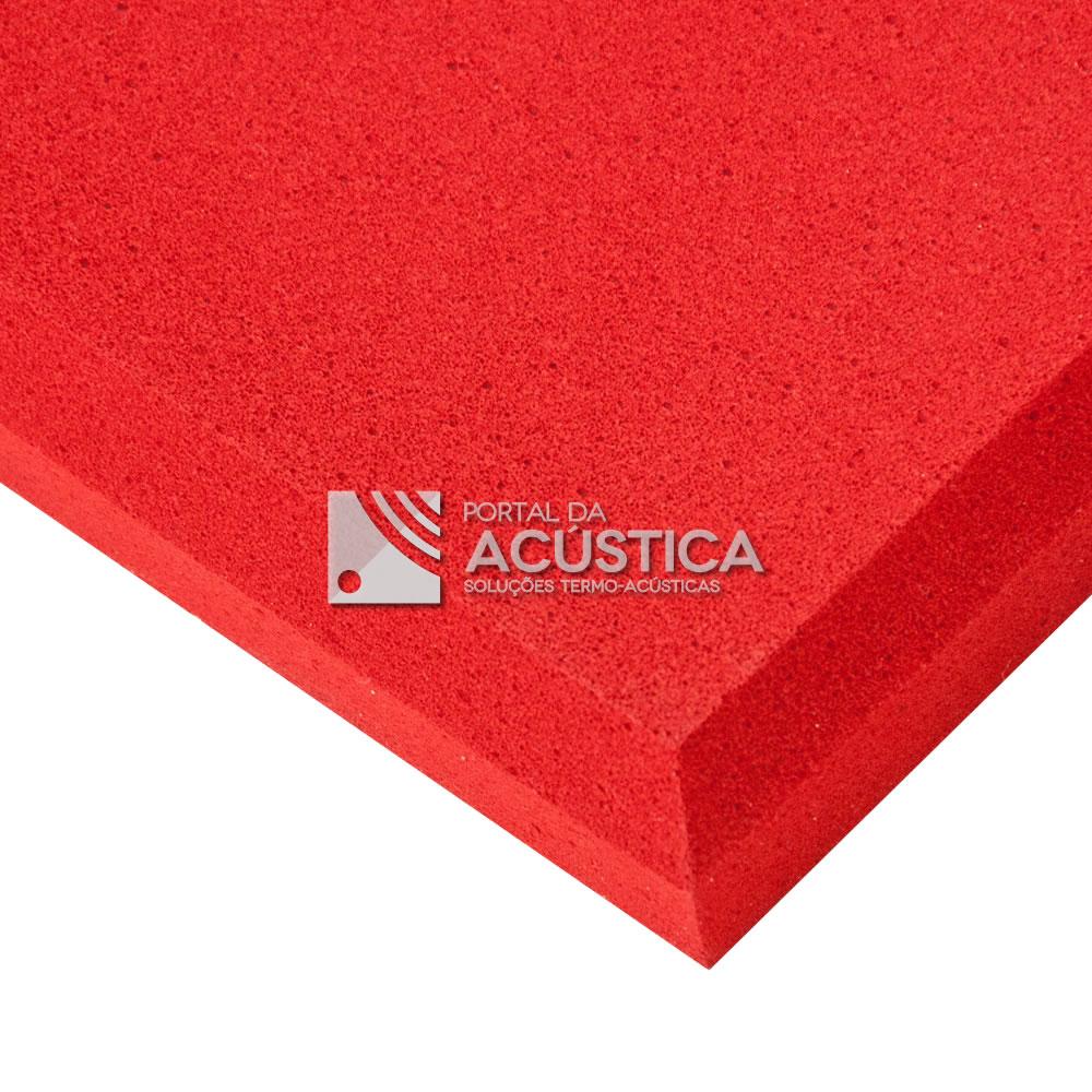 f6d4695cbac Espuma Melamina (Incombustível) 625 x 625 x 20mm - Vermelho - Portal ...