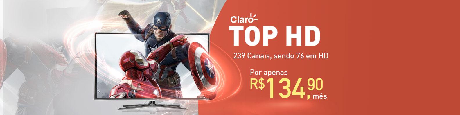 Promoções Claro para o pacote Claro TV Mix HD