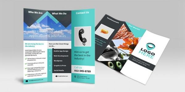 Brochura-grátis-Tri-Fold-PSD