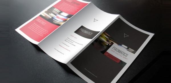Brochura Templates Corporativo Tri-Fold