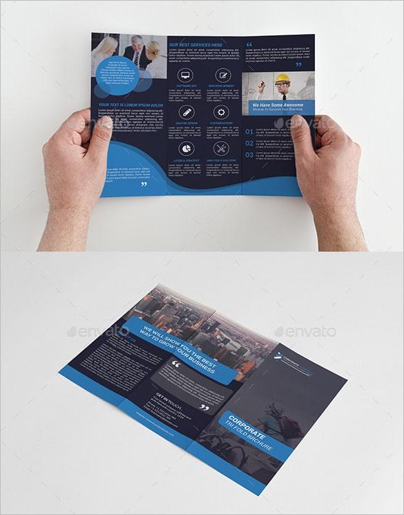 Pacote de Brochura Multi Design Tri-Fold