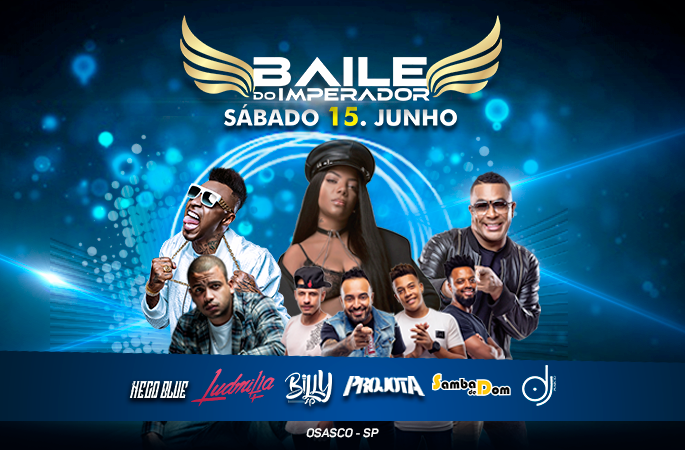 BAILE DO IMPERADOR NO CASTELO SHOW