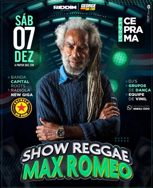 Max Romeo em São Luís