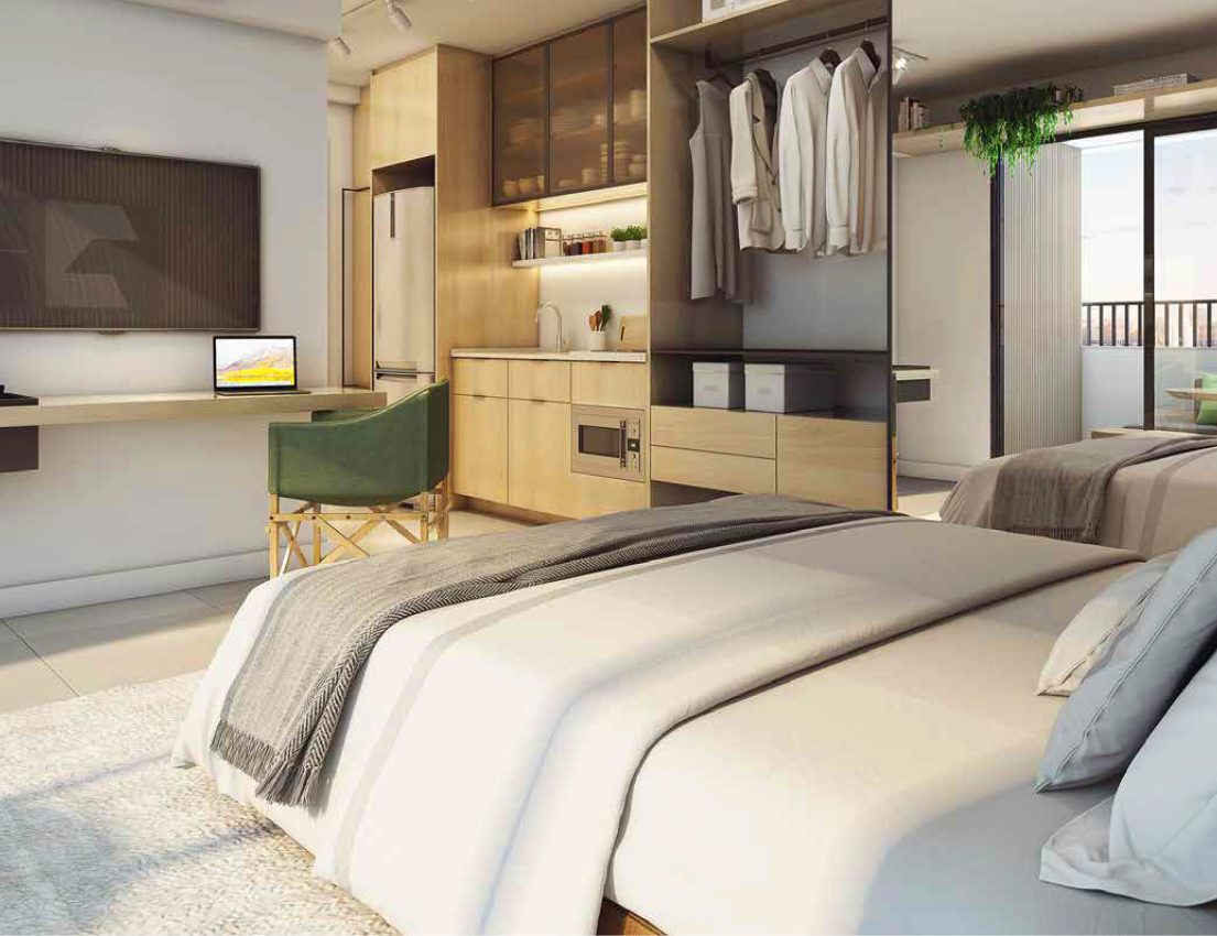 Por que investir em apartamentos tipo studio é uma boa opção?