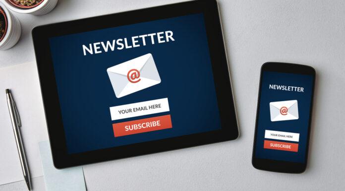 Newsletter para o seu site
