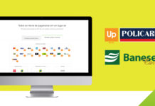 Bandeiras Up Policard e Banese Card