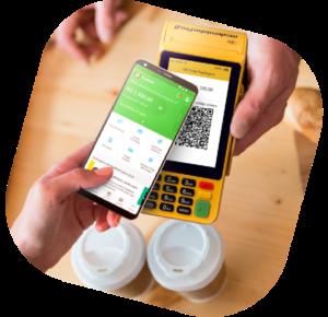 pagamento usando o celular