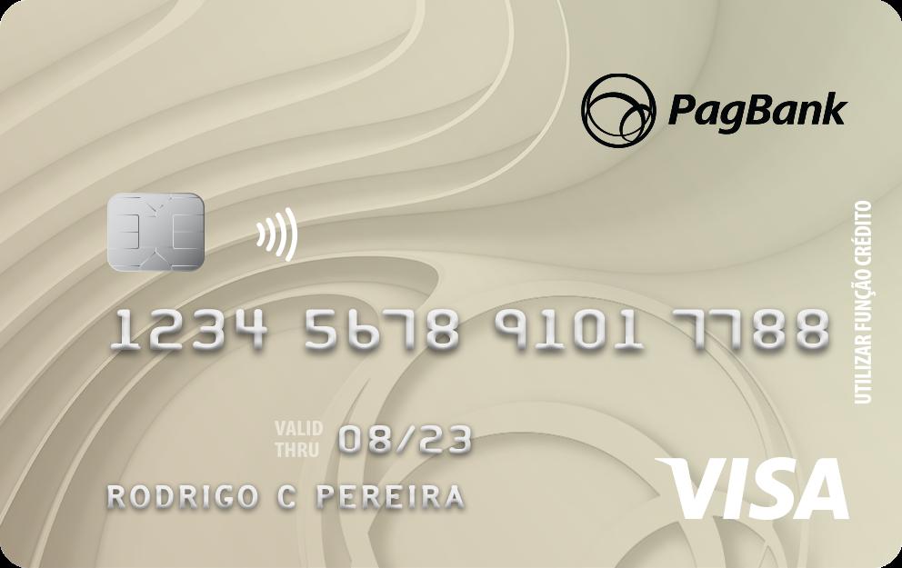 cartão da conta pagbank