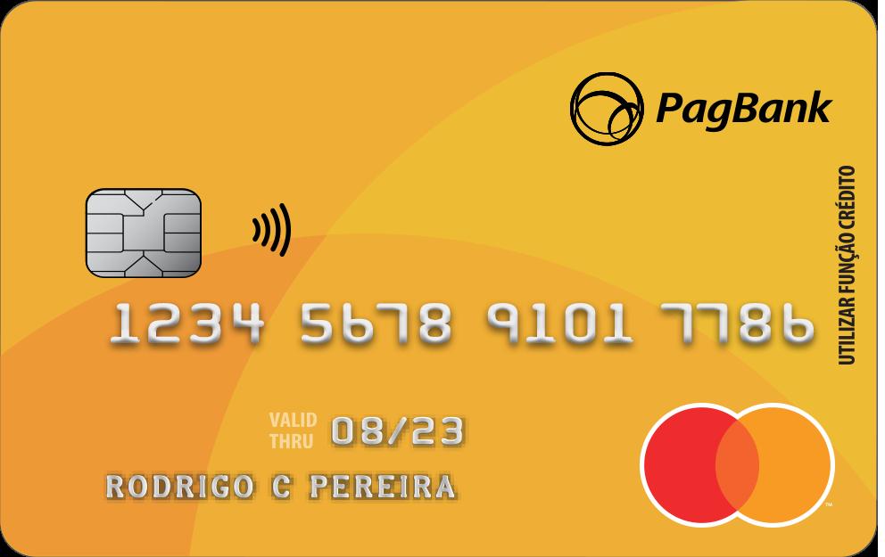 cartão pré pago pagbank