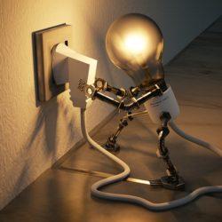 cuidados com eletricidade em casa