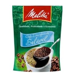 CAFE MELITTA SOLUVEL DESCAFEINADO SACHE 50g
