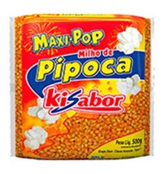 MILHO PIPOCA KISABOR 500g