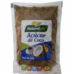 ACUCAR COCO NATURAL LIFE 250g