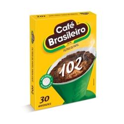 FILTRO PAPEL BRASILEIRO 102 C/30un