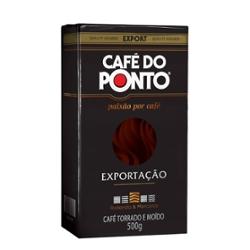 CAFE DO PONTO EXPORTACAO A VACUO 500g