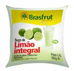 POLPA BRASFRUT LIMAO 100g