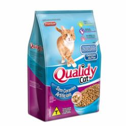 RACAO GATOS QUALIDY PREMIUM AD.DEL.DO MAR 500g