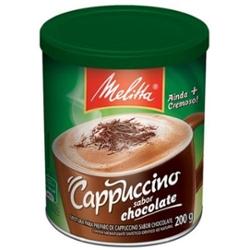 CAFE MELITTA SOLUVEL CAPUCCINO CHOC.200g