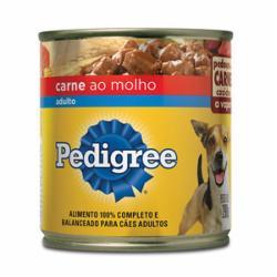 ALIMENT.CAES PEDIGREE CARNE/MOLHO LT.290g