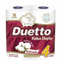 PAP.HIG.DUETTO PERF.30M 4un
