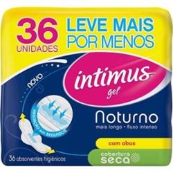 ABS.INTIMUS GEL C/ABAS NOTURNO SECO C/36UN