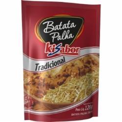 BATATA PALHA KISABOR TRADICIONAL 120g