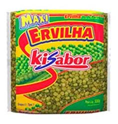 ERVILHA KISABOR PARTIDA 500g