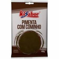 ESPEC.KISABOR PIMENTA C/COMINHO 40g