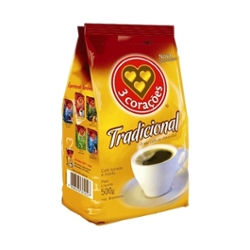 CAFE 3 CORACOES TRAD.500g