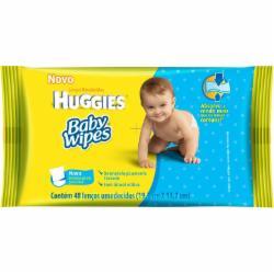 TOALHA UMED.HUGGIES BABY WIPES C/48un