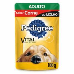 ALIMENT.P/CAES PEDIGREE AD.CARNE AO MOLHO 100g