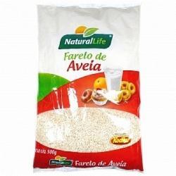 FARELO AVEIA NATURAL LIFE 500g