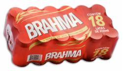 CERV.BRAHMA CHOPP LT.350ml PROMO CX.18