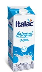 LEITE UHT ITALAC INTEGRAL C/TAMPA 1l