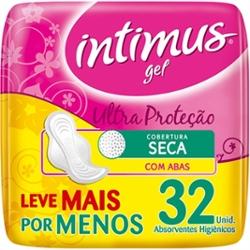 ABS.INTIMUS GEL SECA C/ABAS 32un