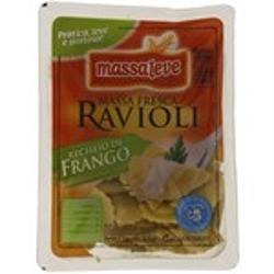 MAS.FRES.MASSALEVE RAVIOLI FRANGO 400g