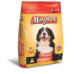 RACAO CAES MAGNUS FILHOTE CARNE 1kg