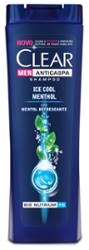 SH.CLEAR ANTICASPA MEN ICE CO.200ml