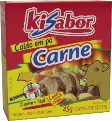 CALDO PO KISABOR CARNE 45g