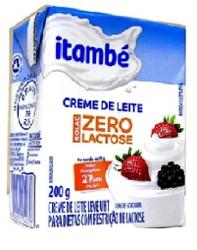 CREME DE LEITE ITAMBE NOLAC 200g